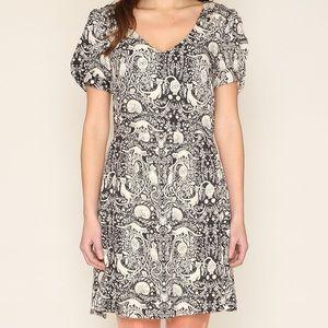 ModCloth Pepaloves Cat print dress